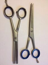 "Professional Hairdressing Barber Cutting & Thinning Scissors Shrars Set 6.0"""