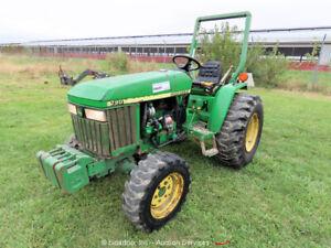 2004 John Deere 790 4WD Utility AG Tractor Yanmar Diesel Aux Hyd 540 PTO bidadoo