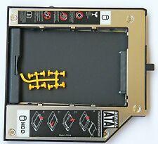 SATA 2nd Hdd Hard Drive Caddy Module ThinkPad T420 T520 W700 T430 Ultrabay Slim