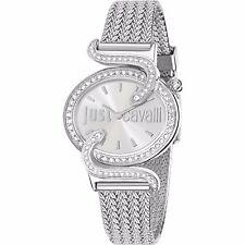 Just Cavalli R7253591503 - Reloj con correa de acero para mujer, color plateado