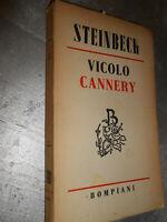 LIBRO: VICOLO CANNERY - STEINBECK - BOMPIANI