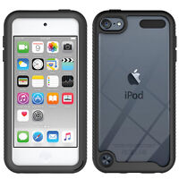 For Apple iPod Touch 7th 6th 5th Generation Shockproof Hybrid Clear Case Cover