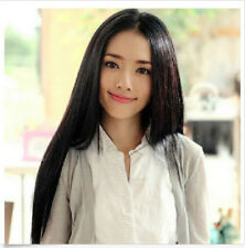 Women New  Lady Fashion Long Straight Full Hair Synthetic  Party Wig Full Wigs