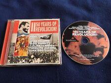 FIDEL CASTRO GRAN FELLOVE TURMA DE GAFIERA ETC CD 50 YEARS OF REVOLUTION- CUBA