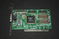 USED TRIDENT TGI 9440 1MB  PCI VGA VINTAGE GAMING VIDEO CARD WORKING H17