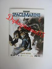 Warhammer 40000 Space Marine (HAND BOOK) Xbox 360,PS3,PCDVD ROM Brand New
