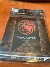 House Targaryen Sigil Banner - Game of Thrones Dragon Flag Poster