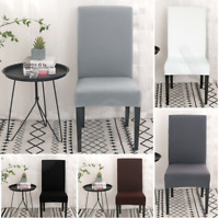 2/4/6Pcs Stretch Dining Chair Covers Removable Slipcover Washable Banquet Event