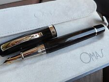 OMAS PARAGON COLORS HT FOUNTAIN PEN BLACK