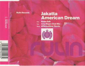 Jakatta – American Dream (Joey Negro / differentGear Mixes) 3-Track CD Single