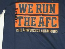 "NFL Denver Broncos ""We Run the AFC""  Nike T-Shirt L/Large NWT!"