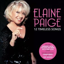 ELAINE PAIGE 12 TIMELESS SONGS CD - PRE RELEASE 2nd MARCH 2018