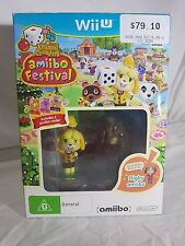 NINTENDO WII UANIMAL CROSSING - AMIIBO FESTIVAL - NEW IN BOX- RRP $79