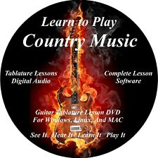 Country Music Over 800 Songs! Guitar TABS Lesson CD 49 Backing Tracks + BONUS!