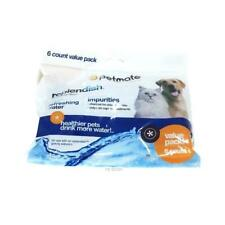 NEW! Petmate Replendish Charcoal Filter 6 Pack water bowl filters