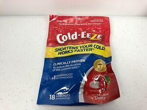 Cold-Eeze Zinc Lozenges Natural Cherry Flavor 18 count Reduces Duration of Cold