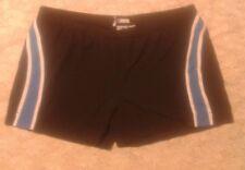 Adidas Supernova Clima 365 Mens Black Blue Stripe Swim Trunks Shorts sz XL
