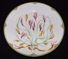 Ceralene Raynaud Limoges, France CROCUS Salad Plate