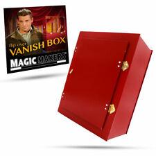 FLIP OVER VANISH BOX PRO MODEL Magic Makers Red Trick Prop Animal Production NEW