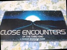 Vintage Close Encounters Of The Third Kind Board Game 1978 Original Complete