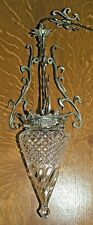 ARTS AND CRAFTS/ART NOUVEAU ANTIQUE SILVER PLATED CEILING LIGHT/LAMP WAS BENSON