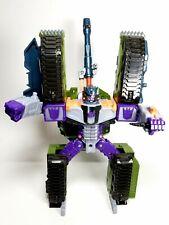 "Transformer Takara Armada Megatron Tank Robot 10 1/2"" Tall 2001 Hasbro VGUC!"