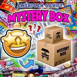 American Candy Box! Variety of Sweets/Chocolates and Snacks