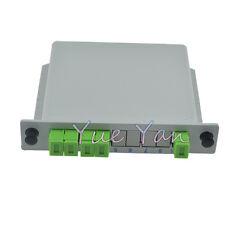 SC APC PLC 1X4 Splitter Fiber Optical Box FTTH PLC Splitter Box Singlemode