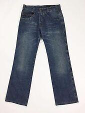 Calvin Klein jeans W31 tg 44 46 uomo gamba dritta boyfriend comodo blu T1042