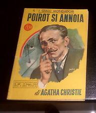 AGATA CHRISTIE nr. 381 POIROT SI ANNOIA MAGGIO 1956 (GIALLI MONDADORI) ottimo