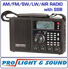 World Band AM/FM Radio + SW / LW / AIR inc SSB suit novice ham, fisher