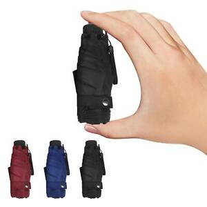 Mini Pocket Compact Fold Umbrella Sun Anti UV  5  Folding Rain Windproof Travel