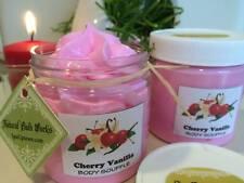 Cherry Vanilla Body Souffle-Whipped body cream - 8 fl oz Designer jar SPA UPTOWN