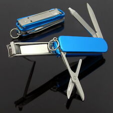 Nail clippers with nail file, stainless, Utility  NailClip Kit , Scissors, Blade
