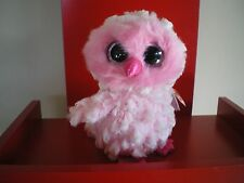Ty Beanie Boos TWIGGY the owl 6 inch  NWT.  IN STOCK NOW.