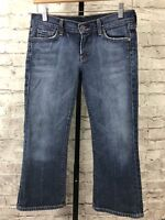 CITIZENS OF HUMANITY - Kelly #063 Low Waist Cropped Stretch Jeans - Tag Size 29