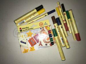 Marabu Textil Painter Pen Sets and Loose Pen options - Water based Fabric Pens