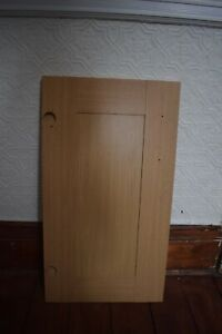 Light oak  Shaker Kitchen Doors 400 mm x 715  , used