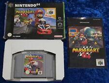 Mario Kart 64, Nintendo 64 Spiel, OVP Anleitung