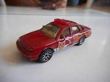 Matchbox Ford Crown Victoria Station 02 in Red