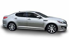 BODY SIDE Moldings PAINTED With CHROME Trim INSERT For: KIA OPTIMA 2011-2018