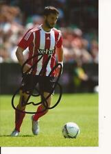 SOUTHAMPTON * SHANE LONG SIGNED 6'' X 4'' ACTION PHOTO+COA