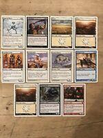 MTG Magic the Gathering8th Edition Cards x 11 Various.  P14