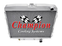 3 Row Performance Champion Radiator for 1968 1969 Ford Fairlane V8 Engine