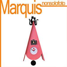 """orologio a cucù  Art. 819  """"Cucu Gattini"""" viola erika  Pirondini  marquis"""