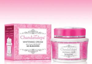 Chandanalepa Whitening Women Cream No Bleaching Beauty Skin French SEPIWHITE