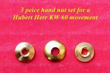 Hubert Herr, reloj cucú tuercas de mano, 3 piezas para ajustarse al movimiento 60 Kw.