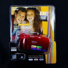 Vivitar DVR810HD 8.1MP Digital Video Camera, Red