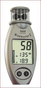 Professioneller Windmesser Kaindl Windmaster 2, Farbe grau