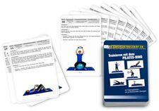 Trainingskarten - Pilates Ring Widerstandsring Fitness Yoga (30 Workouts)